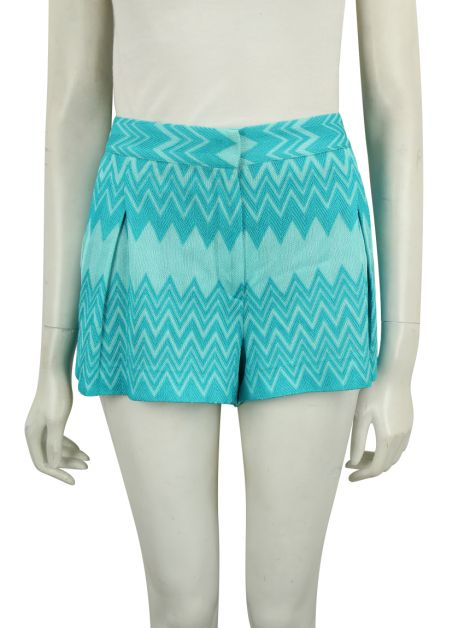 Shorts Missoni Chevron Azul