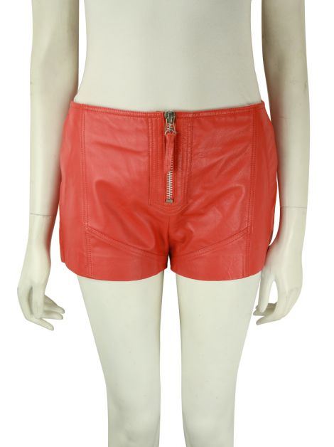 Shorts NK Store Couro Coral