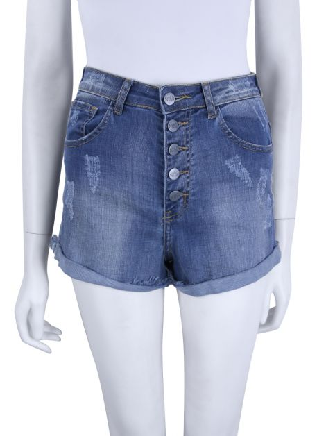 Shorts NYBD Denim Puídos