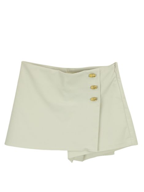 Shorts Saia Cris Barros Mini Envelope Cru Infantil