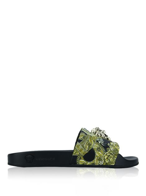 Slides Versace Ciabattina Estampado