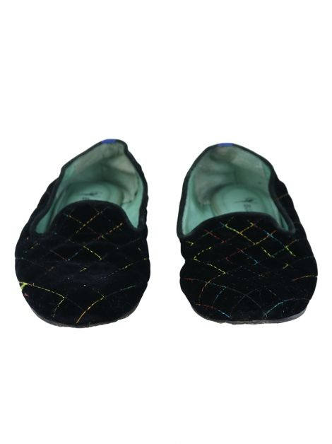 Slipper Blue Bird Veludo Preto