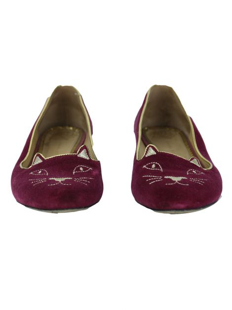 Slipper Charlotte Olympia Kitty Fuscia