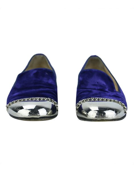 Slipper Christian Louboutin Roller Girl Azul