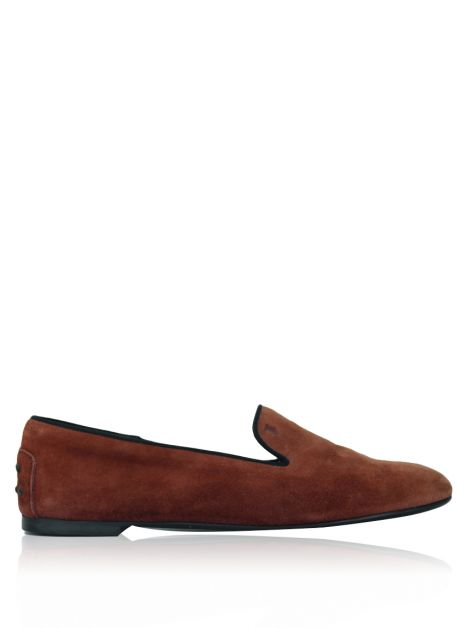 Slipper Tod's Camurça Terracota