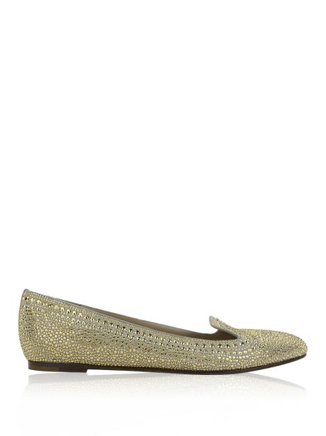 Slipper Valentino Crystal Studded