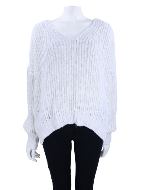 Suéter Mixed Tricot Off-White