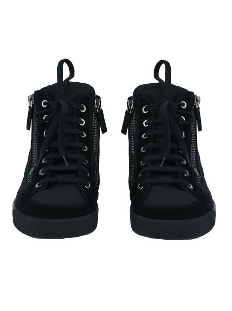 Tênis Chanel High Top Preto