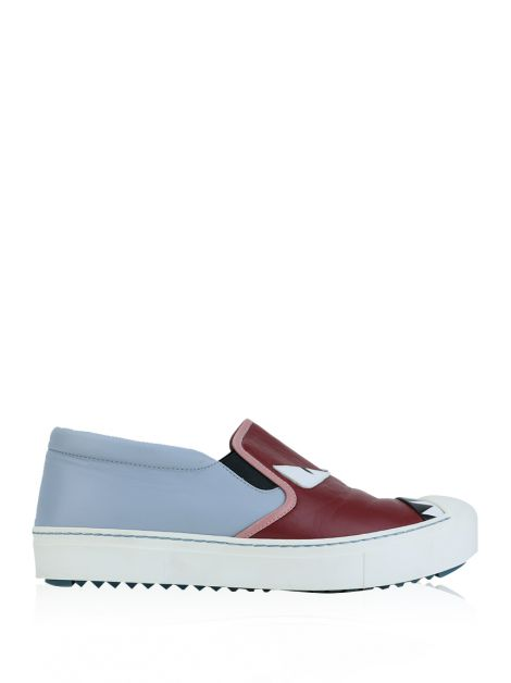 Tênis Fendi Monster Slip-On Colorido