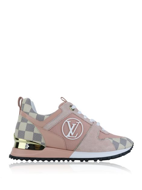 Tênis Louis Vuitton Run Away Rosa