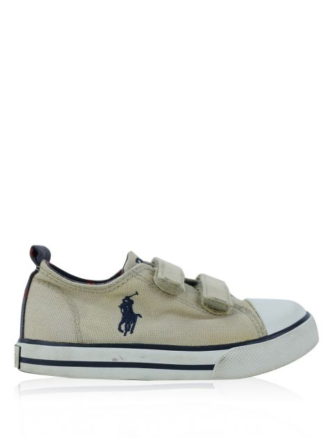 Tênis Polo Ralph Lauren Bege Toddler