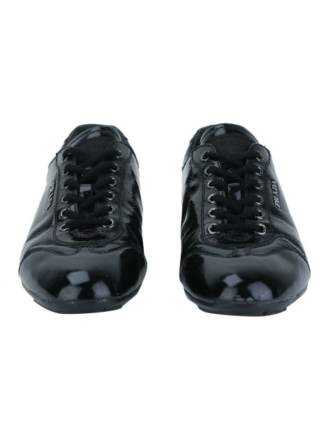 Tênis Prada Low-Top Verniz Preto