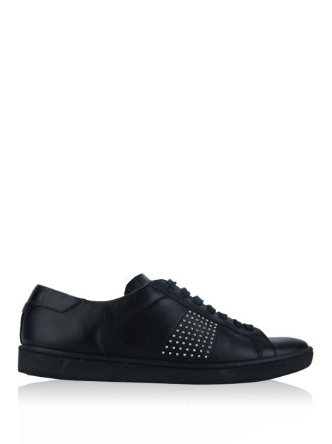 Tênis Saint Laurent Studded Preto