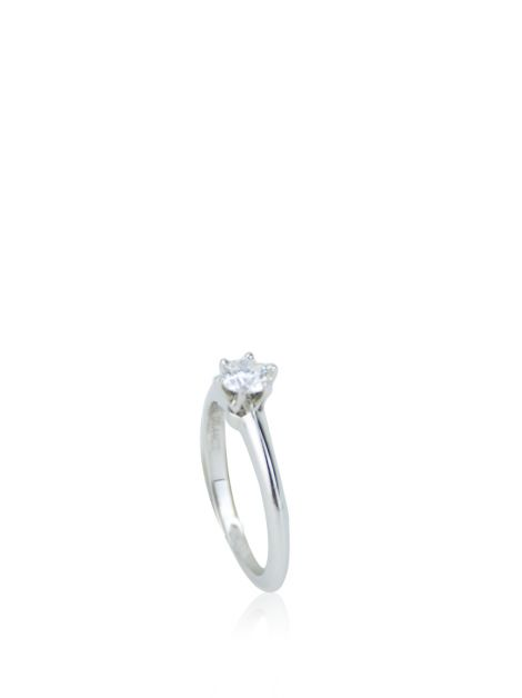 Anel Tiffany & Co Setting Platina Diamante