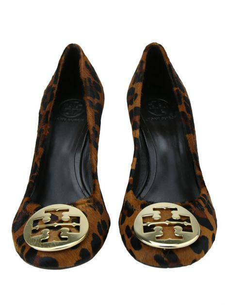 Sapato Tory Burch Sally Wedges Leopard