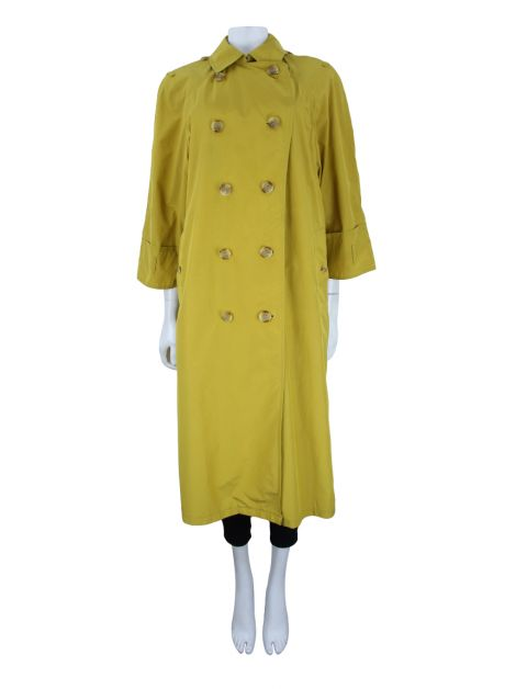 Trench Coat Burberry Amarelo