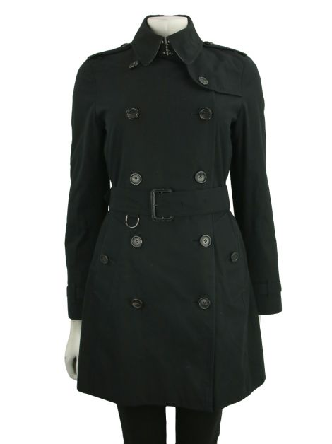 Trench Coat Burberry Gabardine Preto