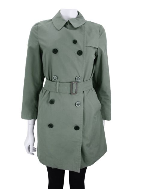 Trench Coat Burberry London Verde
