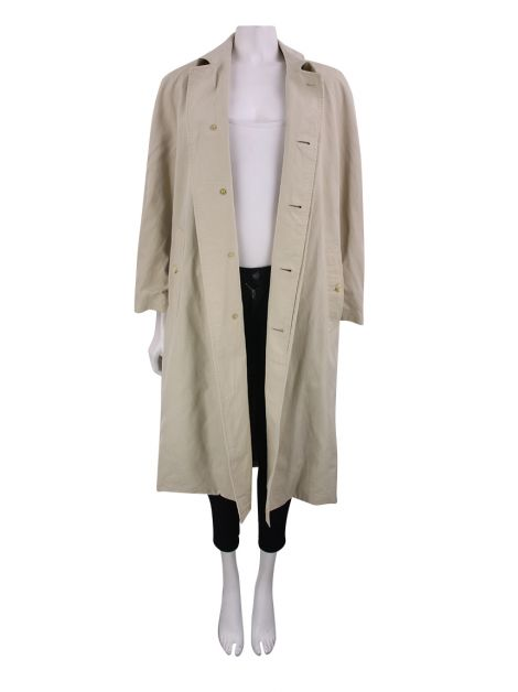 Trench Coat Burberry's Vintage Algodão Nude