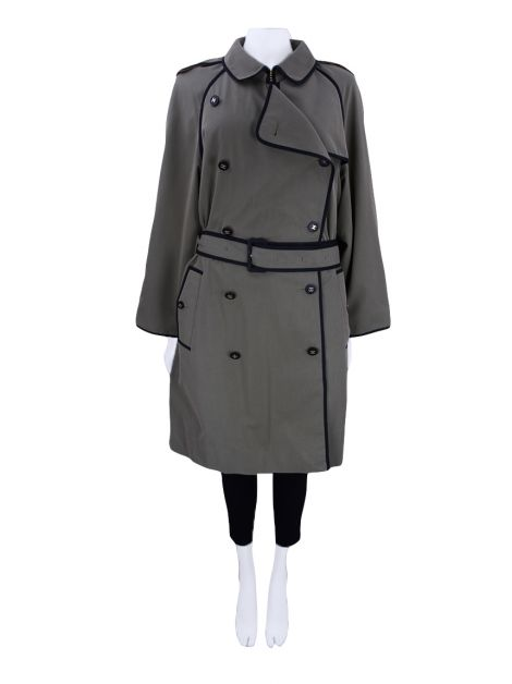 Trench Coat Chanel Caqui Vintage