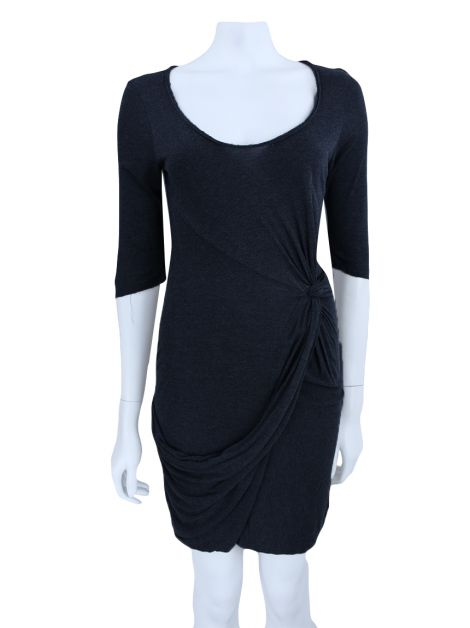 Vestido All Saints Spitalfields Prega Cinza