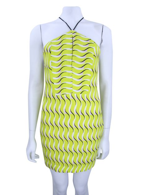 Vestido Animale Estampado Neon