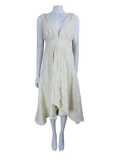 Vestido Cruise Midi Off White
