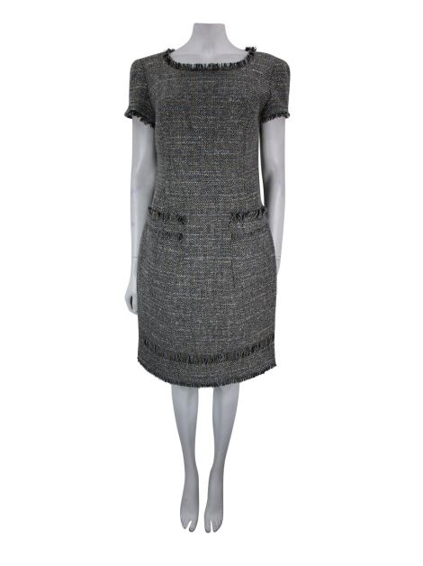 Vestido Daslu Tweed Mesclado