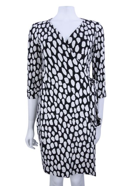 Vestido Diane Von Furstenberg New Julian Two Estampado