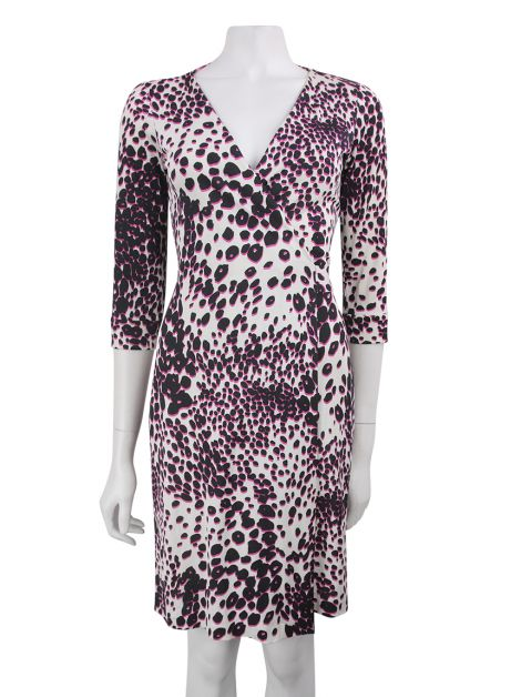 Vestido Diane Von Furstenberg New Julian Two Seda Estampado