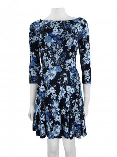 Vestido Erdem Vivi Dress Estampa Floral