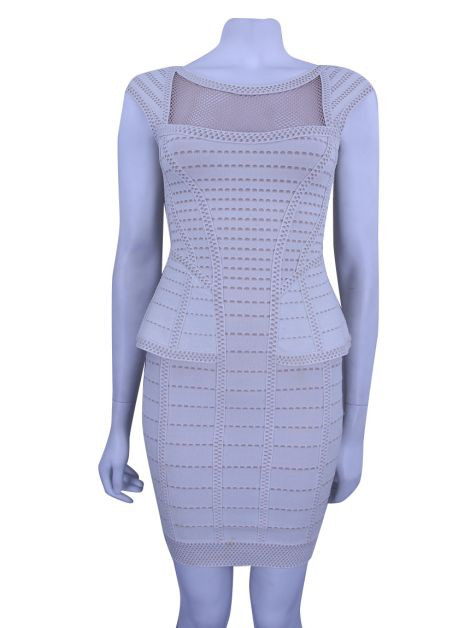 Vestido Hervé Léger Hindi Mesh
