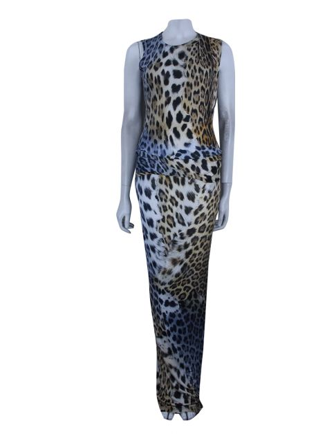 Vestido Just Cavalli Leopardo