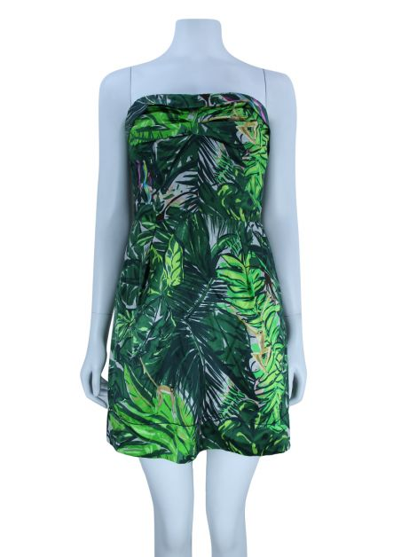 Vestido Louis Vuitton Estampado Verde