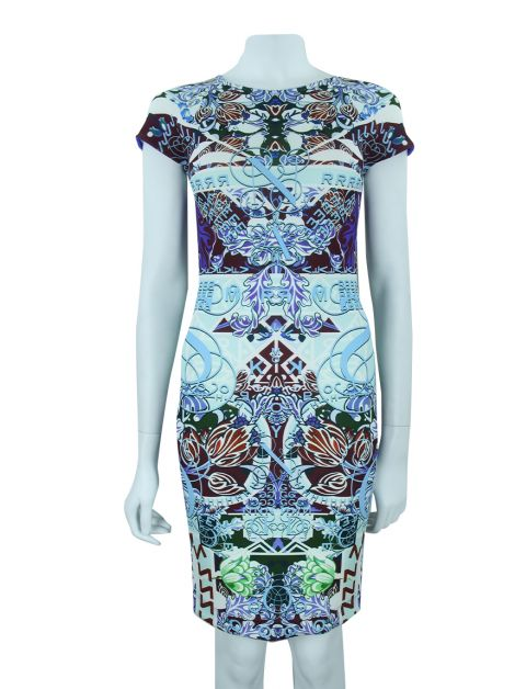 Vestido Mary Katrantzou Neoprene Estampado