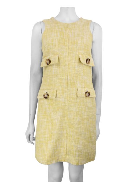 Vestido Michael Kors Tweed Bicolor