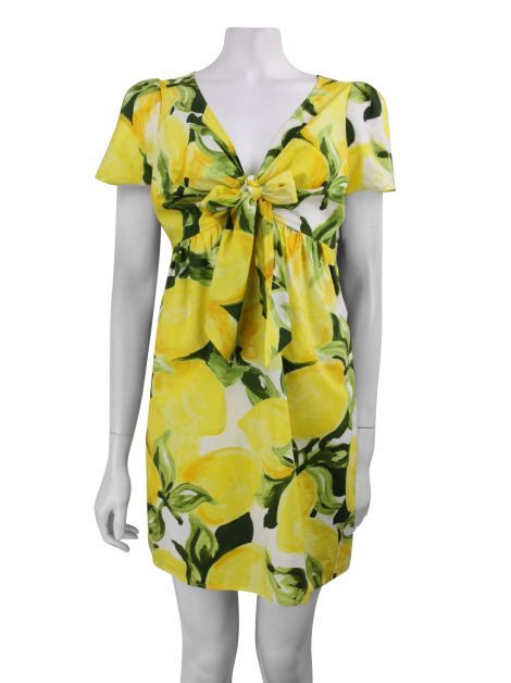 Vestido Moschino Cheap and Chic Estampado Floral
