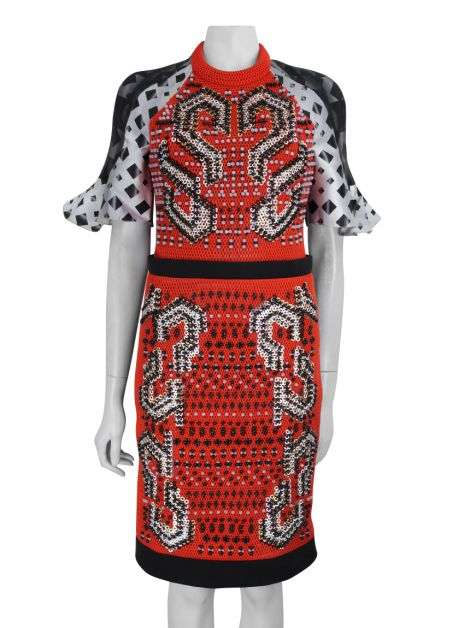 Vestido Peter Pilotto Estampa e Bordado