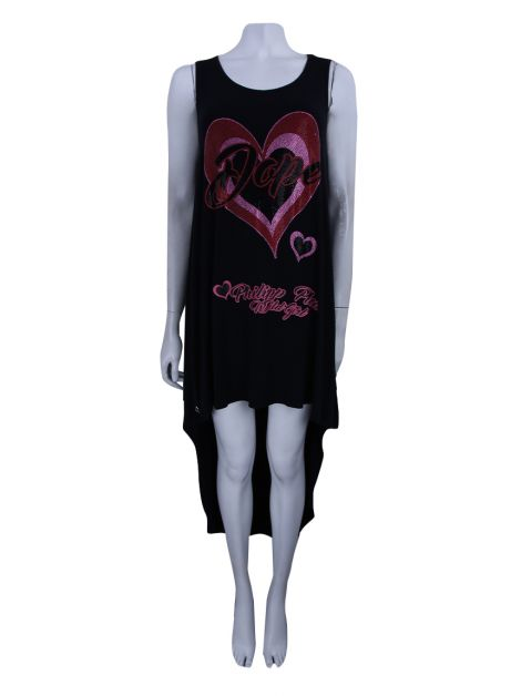 Vestido Phillipp Plein Dope Alongada