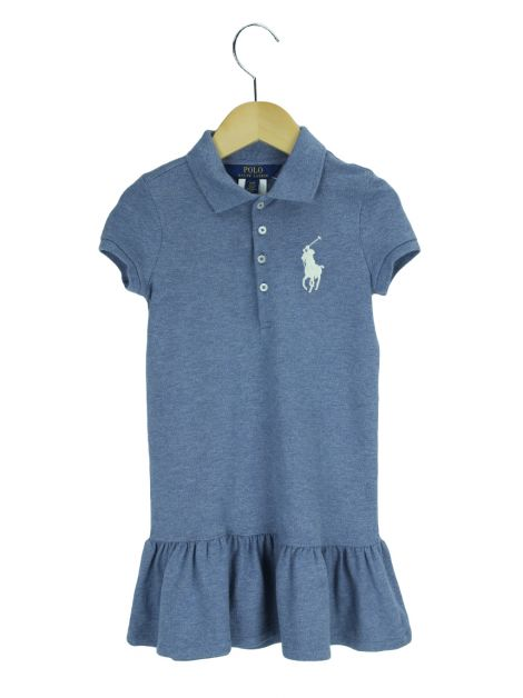 Vestido Ralph Lauren Polo Azul Toddler