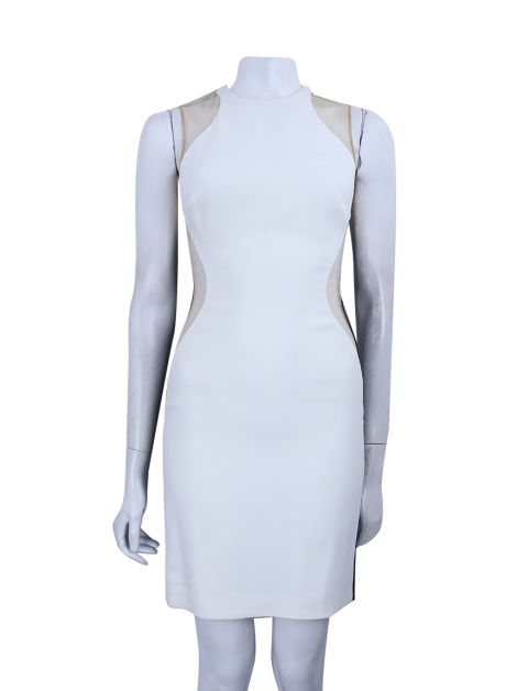 Vestido Stella McCartney Crepe Bicolor