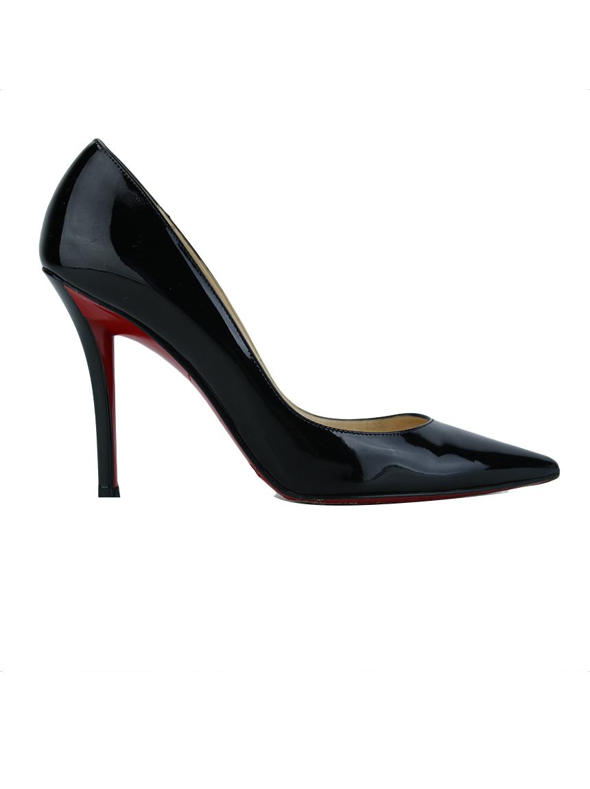 outlet store a3534 9d101 Sapato Christian Louboutin Apostrophy 100 Preto