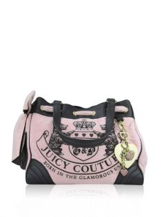 Bolsa Juicy Couture Plush Rosa