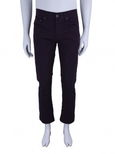 Calça Rag & Bone Slim Straight Bordô Masculina