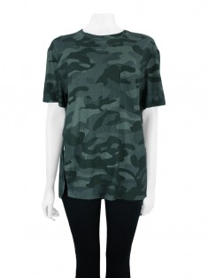 Blusa Osklen Over Soft Touch Camo