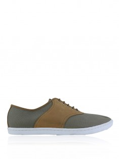 Tênis Fred Perry Colyer Saddle Bege