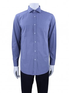 Camisa Ralph Lauren Tailored Fit Cinza Masculina