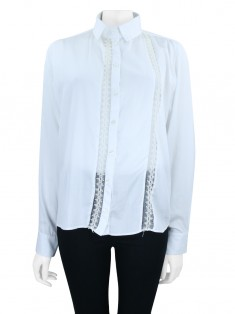 Camisa Gloria Coelho Renda Off White