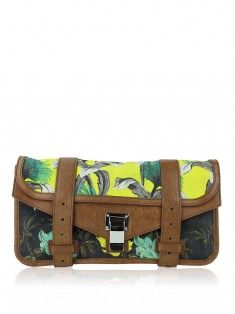 Clutch Proenza Schouler Tropical Printed Canvas