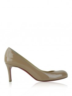 Sapato Christian Louboutin Simple Patent Nude